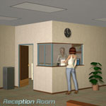 Click to see information about the 'The Reception Room Set (for Poser)'.