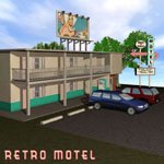 Click to see information about the 'Retro Motel (for Poser)'.