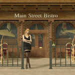 Click to see information about the 'New Main Street Bistro (for Poser)'.