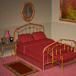 Brass Bedroom Set (for Poser)