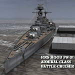 Click to see information about the 'HMS Hood (for Poser)'.
