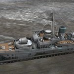 HMCS Snowberry (for Poser)