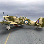 Hurricane Mk IIc Tank-Hunter (for Poser)