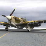 Click to see information about the 'Hurricane Mk IIc Tank-Hunter (for Poser)'.