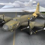 B-17G (theschell) (for Poser)
