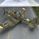 Click to see information about the 'Ju-87 Stuka (for Poser)'.