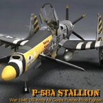 Click to see information about the 'P-58 Stallion (for Poser)'.