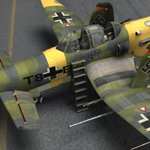 Ju-287-G/1 Staghund (for Poser)