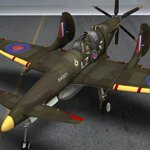 Supermarine SkyFury Mk1 (for Poser)