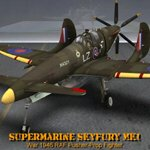 Click to see information about the 'Supermarine SkyFury Mk1 (for Poser)'.