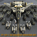 YF-35 Weapons Add-On Set (for Poser)
