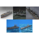 Click to see information about the 'Naval Vessel Pack (for Poser)'.