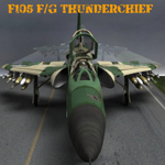 F105F/G Thunderchief (for Poser)