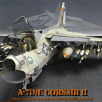 A7D/E Corsair II (for Poser)