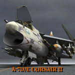 Click to see information about the 'A7D/E Corsair II (for Poser)'.