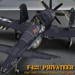 Click to see information about the 'F42U Privateer (for Poser)'.