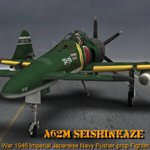 Click to see information about the 'A62M Seishin-Kaze (for Poser)'.