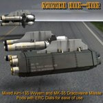 VGF-14 D Wildcat Weapons (for Poser)