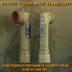 Click to see information about the 'MX-991/U Crook-Neck Flashlight (for Poser)'.