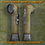 TL-122-D Crook-Neck Flashlight (for Poser)