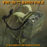 PRC-25 Radio Pack (for Poser)