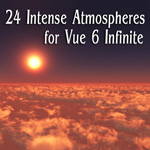 Click to see information about the 'Intense Atmospheres (for Vue)'.