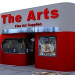 Click to see information about the 'Art Deco Art Supply Store (for DAZ Studio)'.