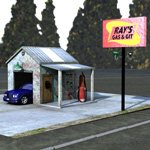 Click to see information about the 'Gas N Git Station (for Poser)'.