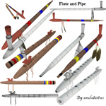 Click to see information about the 'Flute and Pipe (for Wavefront obj)'.