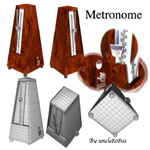 Click to see information about the 'Metronome (for Wavefront Obj)'.