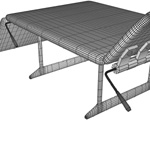 Chiropractor Table (for Wavefront OBJ)