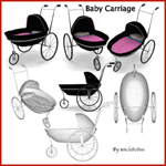Click to see information about the 'Baby Carriage (for Poser)'.