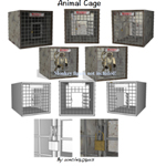 Click to see information about the 'Animal Cage (for Wavefront OBJ)'.