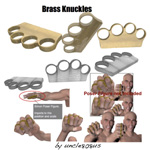 Click to see information about the 'Brass Knuckles (for Wavefront OBJ)'.