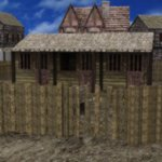 Medieval Village (for DAZ Studio)