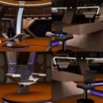 Starship Bridge 16 (for DAZ Studio)