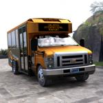 Shuttle Bus (for DAZ Studio)