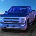 Click to see information about the 'Modern Pickup Truck (for Poser)'.