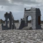 Click to see information about the 'Medieval Ruins Set 1 (for Poser)'.