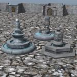 Click to see information about the 'Medieval Ruins Set 2 (for Poser)'.