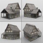 Middle Ages Buildings Set 1 (for DAZ Studio)