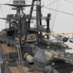 USS Arizona (for DAZ Studio)