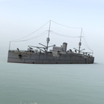 Click to see information about the 'USS Vestal (for DAZ Studio)'.