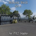 Medieval World Set 2 (for DAZ Studio)
