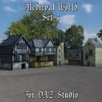 Click to see information about the 'Medieval World Set 3 (for DAZ Studio)'.