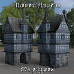 Medieval World Set 4 (for DAZ Studio)