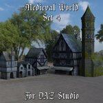Click to see information about the 'Medieval World Set 4 (for DAZ Studio)'.