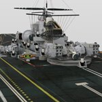 UNS Coral Sea Space Carrier (for DAZ Studio)