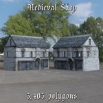 Medieval Market 1 (for DAZ Studio)