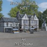 Click to see information about the 'Medieval Market 1 (for DAZ Studio)'.